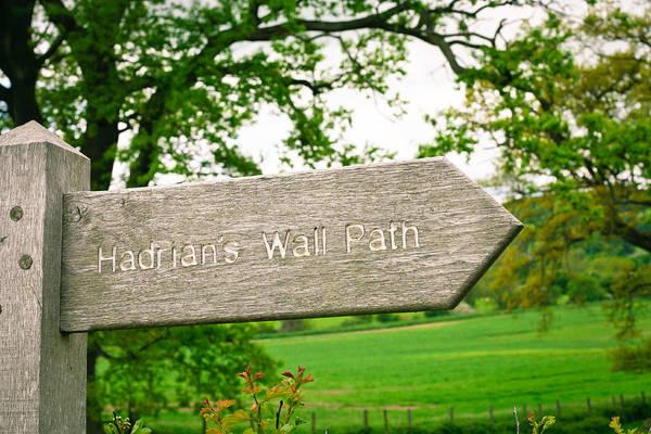 Hadrians Wall Photograph - Hadiran's Wall Path by Tom Gowanlock