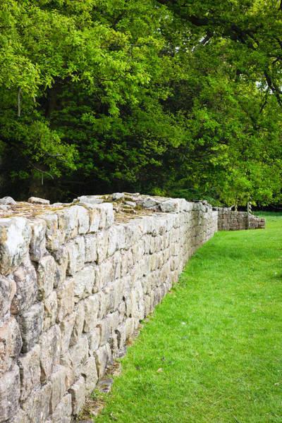 Hadrians Wall Photograph - Hadiran's Wall  by Tom Gowanlock