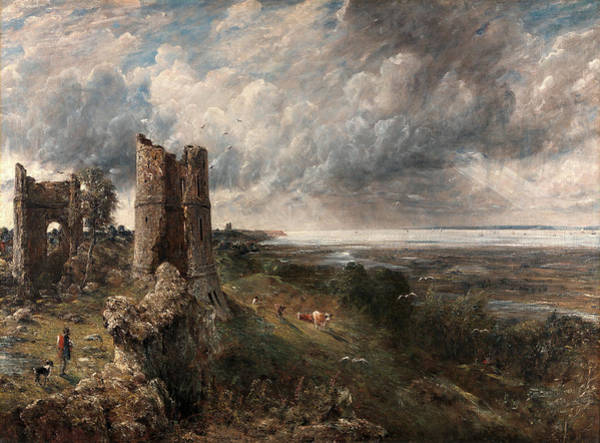 Wall Art - Painting - Hadleigh Castle, The Mouth Of The Thames--morning by Litz Collection