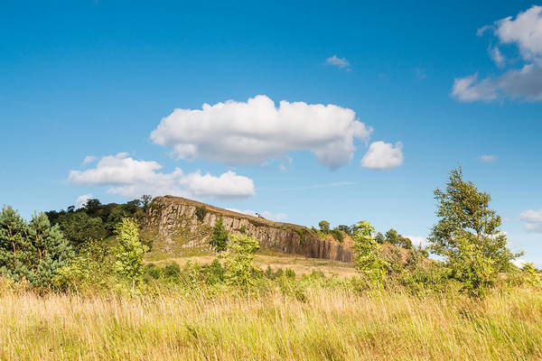 Greenhead Photograph - Hadrians Wall Above Crags by David Head