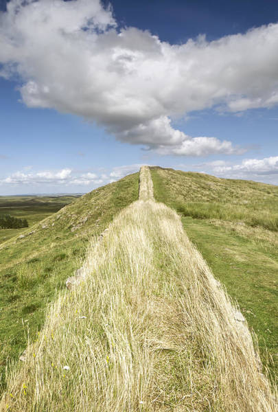 Hadrians Wall Photograph - Hadrian's Wall by Chris Frost