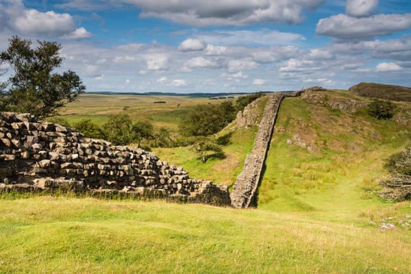 Greenhead Photograph - Hadrians Wall Near Walltown by David Head
