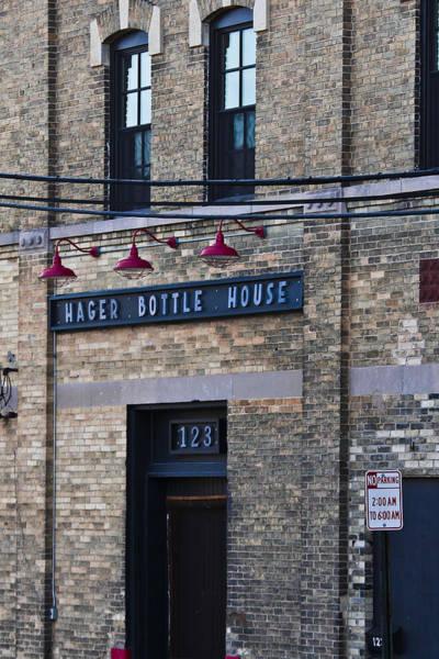 Photograph - Hager Bottle House by Jp Grace