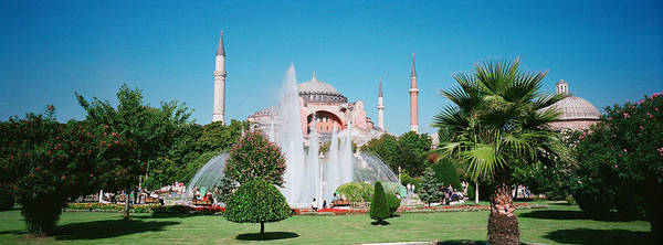 Sofia Photograph - Hagia Sofia Istanbul Turkey by Panoramic Images