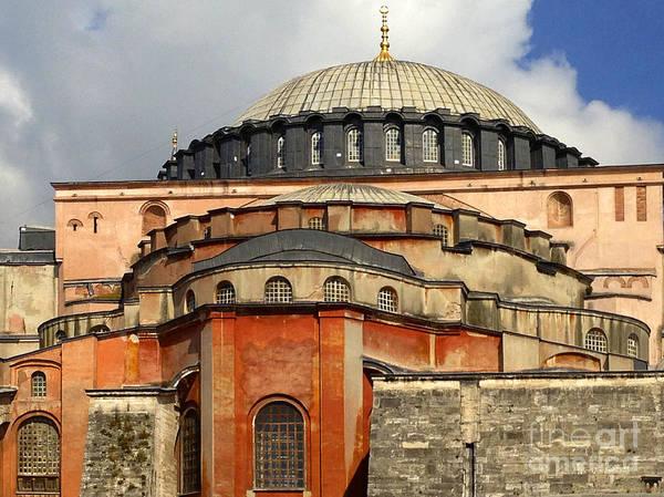 Hagia Sophia Ayasofya Meydani Byzantine Basilica Later Imperial Mosque Istanbul Turkey Art Print by PIXELS  XPOSED Ralph A Ledergerber Photography