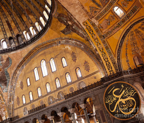 Sancta Sophia Photograph - Hagia Sophia Interior 02 by Rick Piper Photography