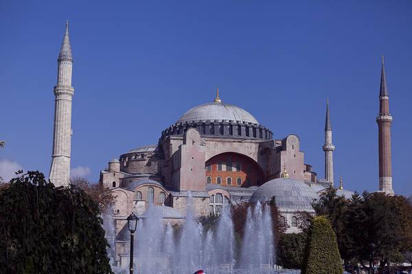 Photograph - Hagia Sophia View From Fountain  by Raimond Klavins