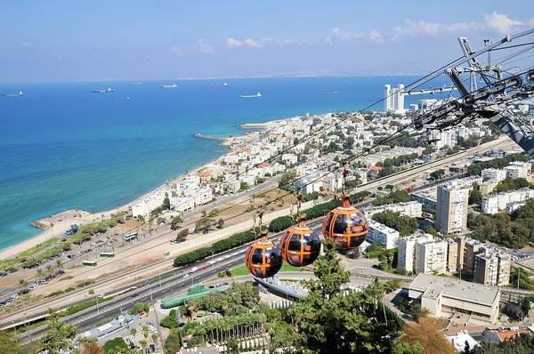 Psi Photograph - Haifa by Photostock-israel
