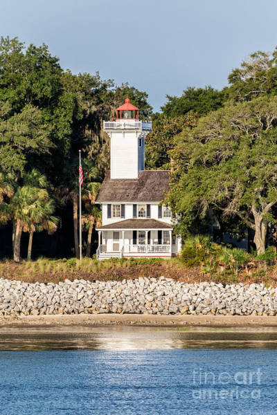 Daufuskie Island Wall Art - Photograph - Haig Point Lighthouse Daufuskie Island South Carolina by Dawna Moore Photography