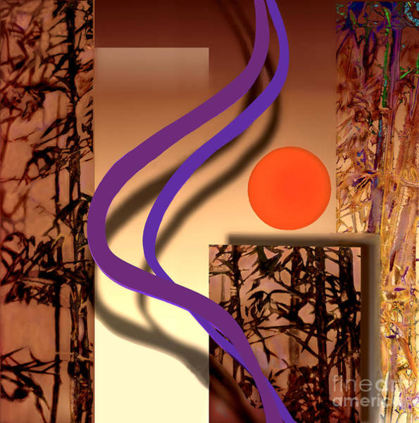 Essence Digital Art - Haiku by Ursula Freer