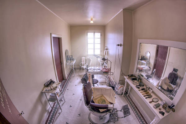 Photograph - Hair Dressing Room At Fordyce Bath House - Hot Springs - Arkansas by Jason Politte