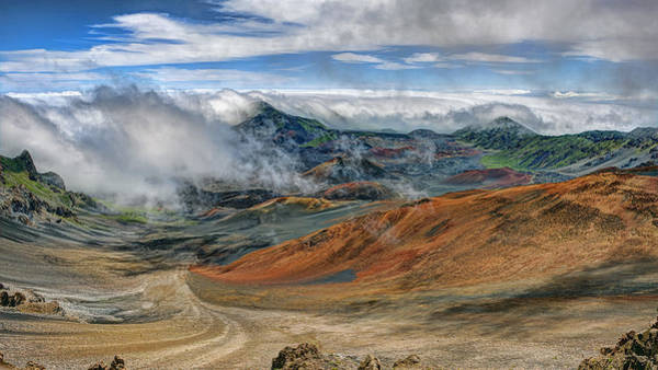 Photograph - Haleakala Crater by Bill Dodsworth