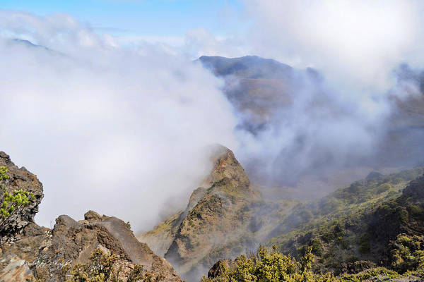 Photograph - Haleakala Mists by Paulette B Wright