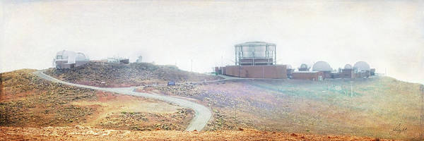 Photograph - Haleakala Observatories by Paulette B Wright