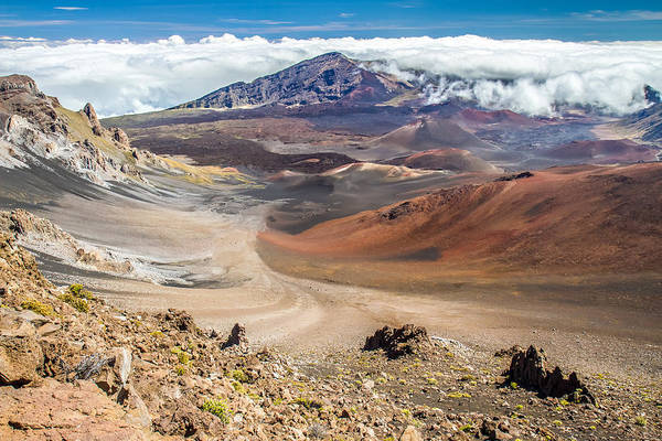 Photograph - Haleakala Volcano Crater by Pierre Leclerc Photography