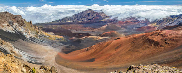 Haleakala Crater Photograph - Haleakala Volcano On Maui Hawaii by Pierre Leclerc Photography