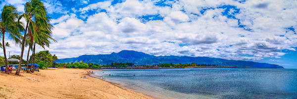 Photograph - Haleiwa Beach by Gordon Engebretson