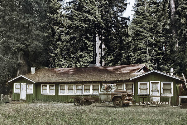 Photograph - Hales Grove Ca Trapped In The Past by Christine Till