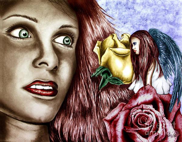 Devilish Drawing - Haleys Apparition Colored by Peter Piatt