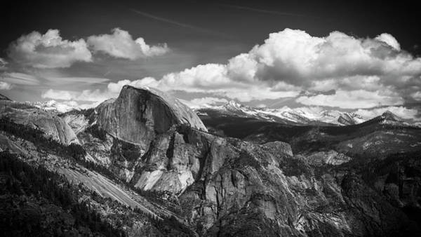 Dome Peak Photograph - Half Dome From Yosemite Point, Yosemite by Russ Bishop