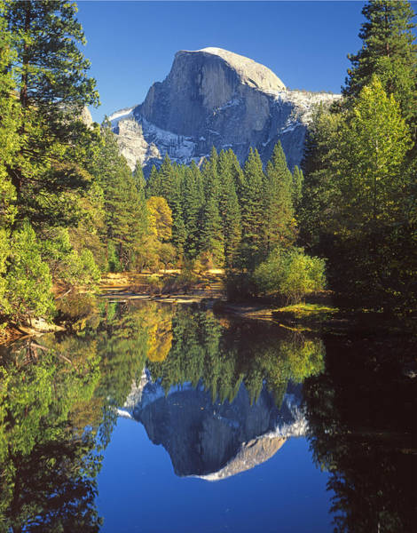 2m6709-half Dome Reflect - V Art Print
