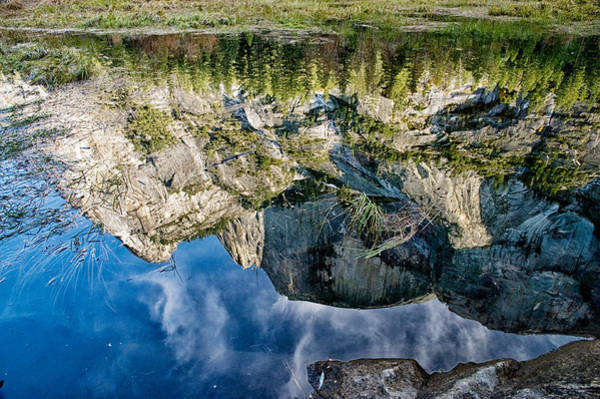 Photograph - Half Dome Reflection by Cat Connor