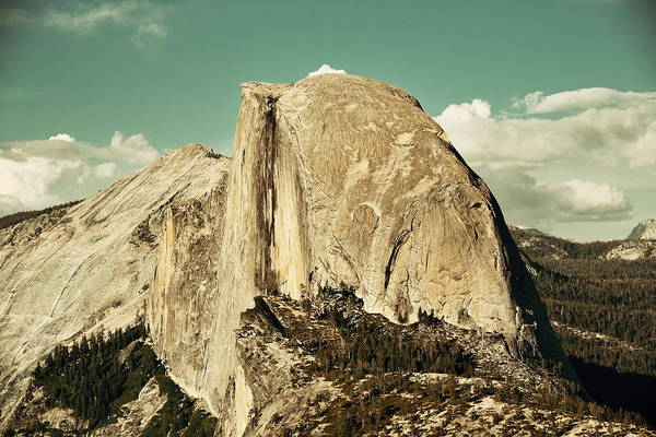 Photograph - Half Dome by Songquan Deng