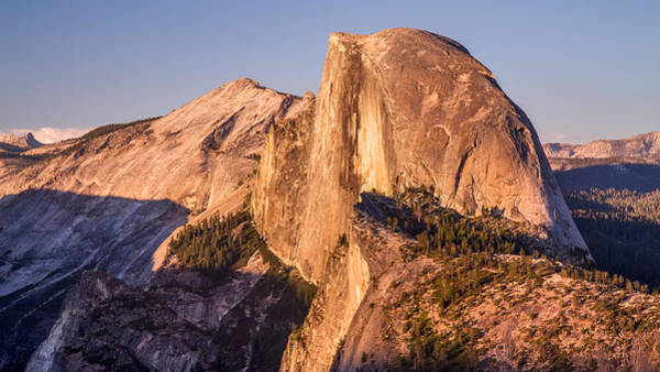 Photograph - Half Dome Sunset In Yosemite National Park by Pierre Leclerc Photography