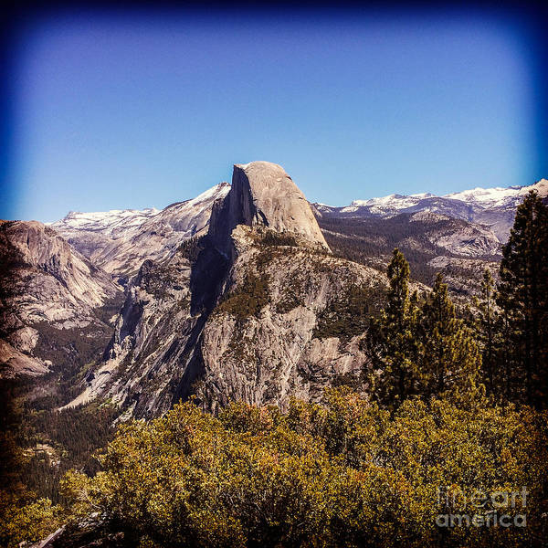 Half Dome Wall Art - Photograph - Half Dome Yosemite Nationa Park by Colin and Linda McKie
