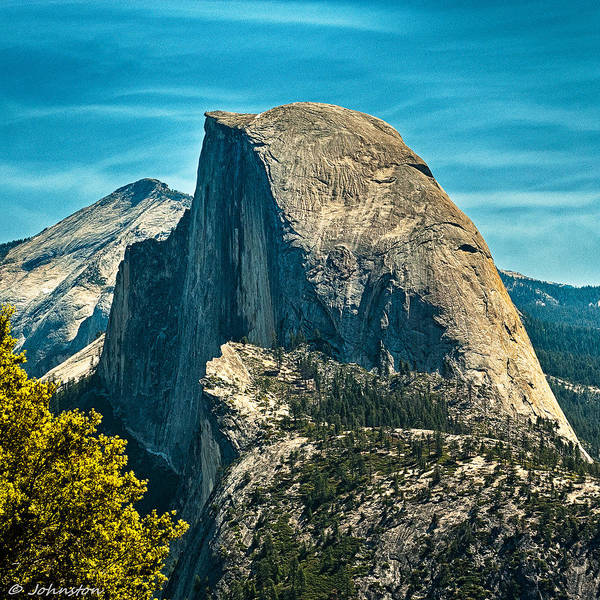 Photograph - Half Dome Yosemite National Park by Bob and Nadine Johnston