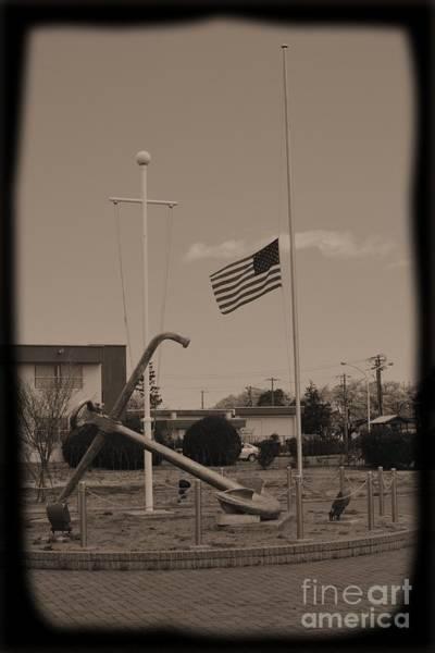 Atsugi Photograph - Half Mast D by Jay Mann