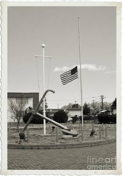 Atsugi Photograph - Half Mast I by Jay Mann