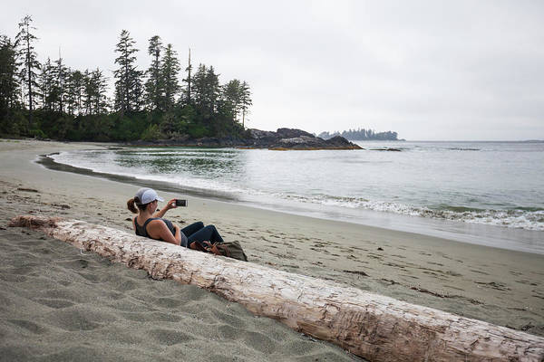 Half Moon Bay Photograph - Half Moon Bay, Pacific Rim National by Christopher Kimmel