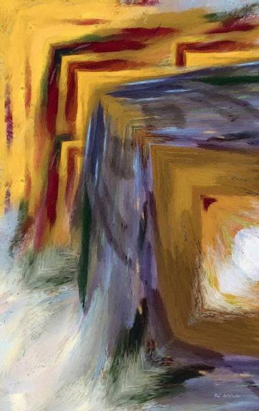 Painting - Half The Picture by RC DeWinter