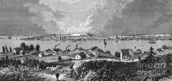 Halifax Ns - 1878 Art Print