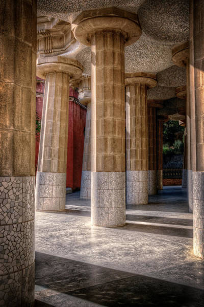 Photograph - Hall Of 100 Columns by Joan Carroll