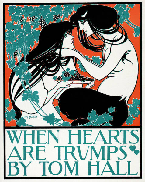 Wall Art - Painting - Hall When Hearts Are Trumps by Granger