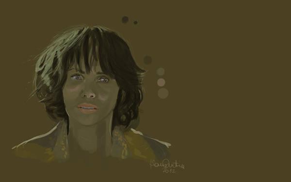 Hana Digital Art - Halle Berry by Hana Dutina