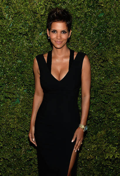 Dress Form Photograph - Halle Berry, Michael Kors And The by Dimitrios Kambouris