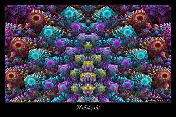 Digital Art - Hallelujah by Missy Gainer