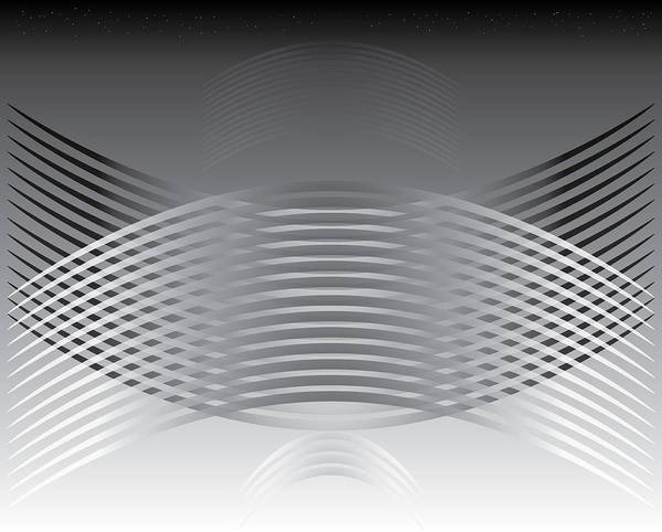Digital Art - Hallenwave by Kevin McLaughlin