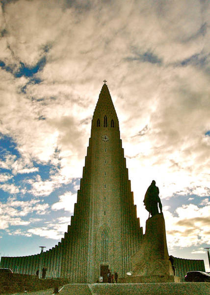Photograph - Hallgrimskirkja Church by HweeYen Ong