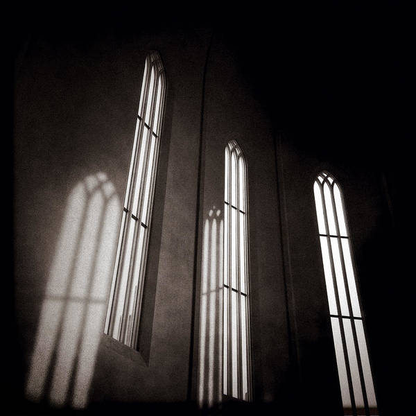 Hallgrimskirkja Windows Art Print