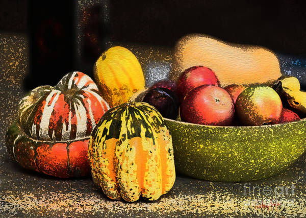 Wall Art - Digital Art - Halloween Fruit by Anthony Forster