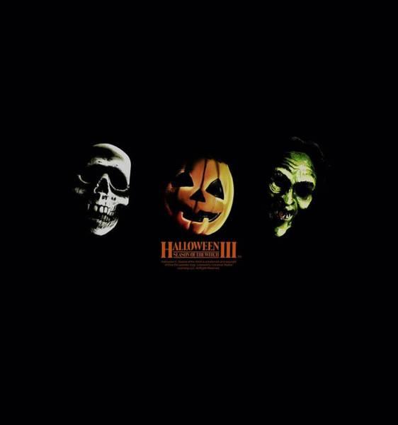 Witchcraft Digital Art - Halloween IIi - Three Masks by Brand A