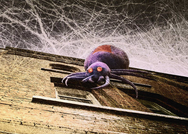 Arachnids Wall Art - Photograph - Halloween Is Coming by Susan Capuano