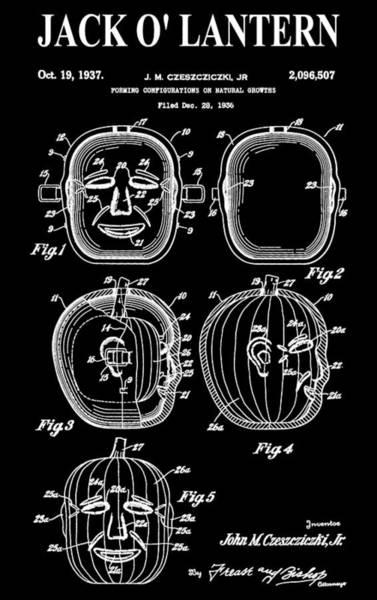 Digital Art - Halloween Pumpkin by Dan Sproul
