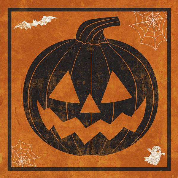Pumpkin Digital Art - Hallows Eve I by Sd Graphics Studio