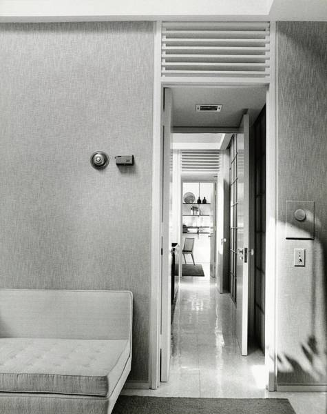 Corporations Wall Art - Photograph - Hallway From A Living Room by Pedro E. Guerrero