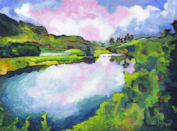 Painting - Hamakua Swamp by Angela Treat Lyon